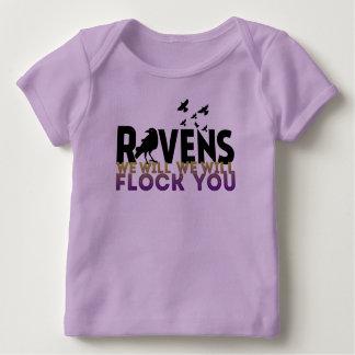 Wir scharen uns Sie Baby T-Shirt