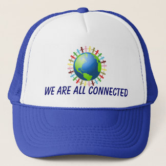 Wir sind alle verbundener Hut Truckerkappe