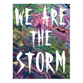 Wir sind die STURM Definitions-Postkarte Postkarte