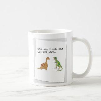 Wir sind Freunde gewesen Kaffeetasse