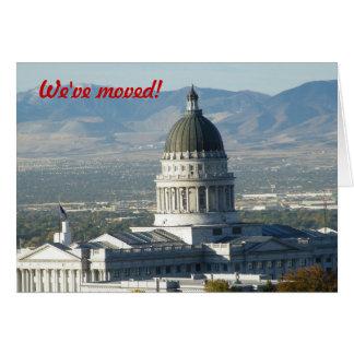 Wir sind - nach Utah umgezogen Karte