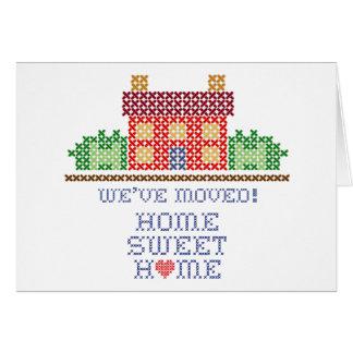 Wir sind umgezogen! Zuhause-Bonbon-Zuhause Karte