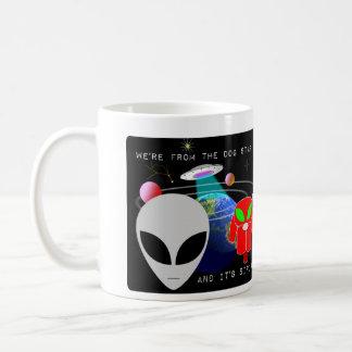 Wir sind vom Hundestern und es ist- Sirius Kaffeehaferl