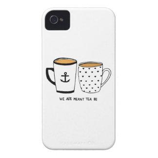 Wir werden bedeutet, dass Tee ist iPhone 4 Case-Mate Hülle