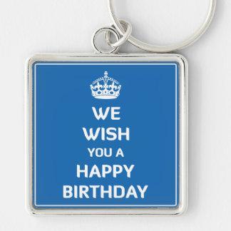 Wir wünschen Ihnen alles Gute zum Geburtstag Schlüsselanhänger