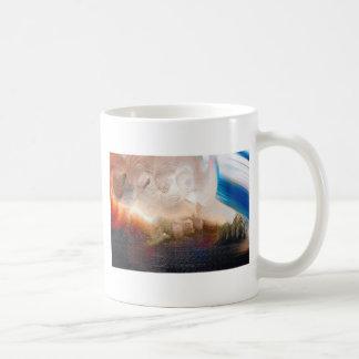 Wirbelnde Farben-Flecke Kaffeetasse