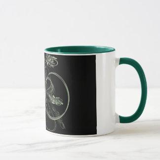 Wirbelnde Trauben-Rebe-Tasse Tasse