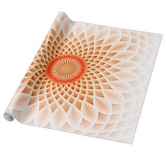 Wirbelnde Träume, Pfirsich (I) Geschenkpapierrolle