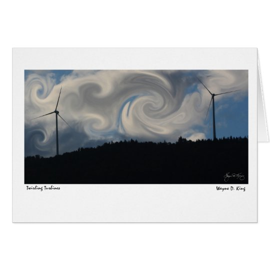 Wirbelnde Turbinen Karte