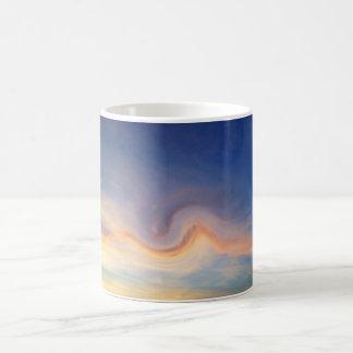 Wirbelnde Wolken Kaffeetasse