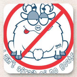 wirft Chicago-Ziegen-Shirt Getränkeuntersetzer