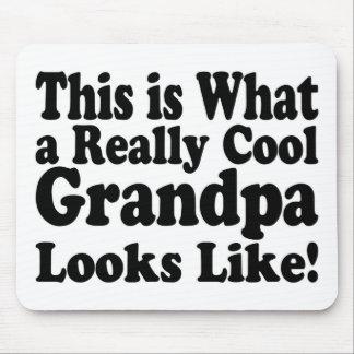 Wirklich coole Großvater-Auflage Mousepad