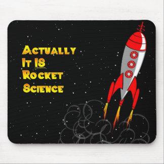 Wirklich IST es Raketentechnik Mousepad