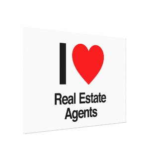 wirkliche Anwesen-Agenten der Liebe I Leinwanddruck