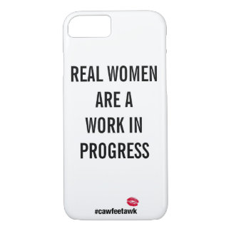 Wirkliche Frauen sind ein im Entstehen iPhone 8/7 Hülle