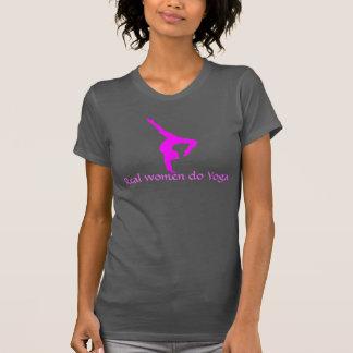 """""""Wirkliche Frauen tun Yoga"""" Behälter T-Shirt"""