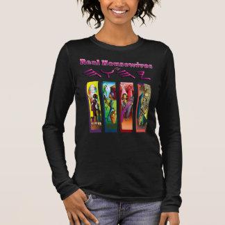 Wirkliche Hausfrauen vom höchsten Langarm T-Shirt