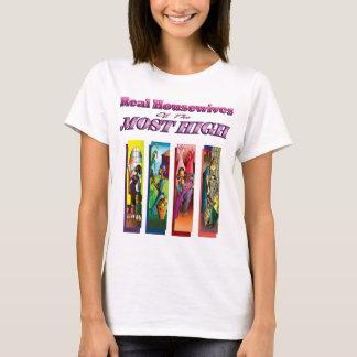 Wirkliche Hausfrauen vom höchsten T-Shirt
