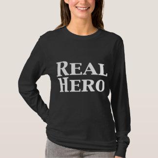 Wirkliche Held-Geschenke T-Shirt