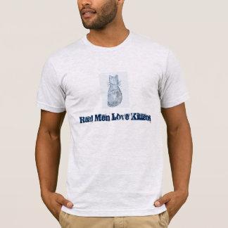 """""""Wirkliche Mann-Liebe-Kätzchen-"""" T - Shirt"""