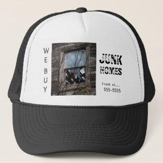 Wirklicher Anwesen-Investor-Werbungs-Kappen-Hut Truckerkappe