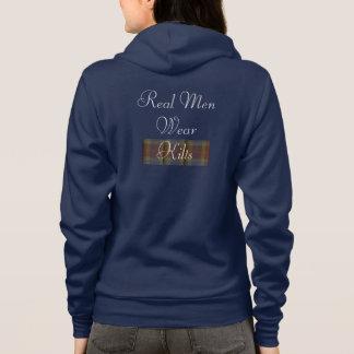 Wirkliches Herrenbekleidungkilts-Sweatshirt Hoodie