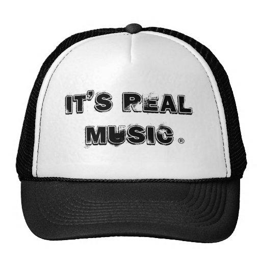 Wirkliches Music® Retromütze