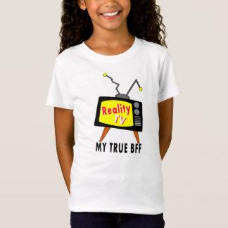 Wirklichkeit Fernsehen meine FREUNDIN-altmodischen T-Shirt