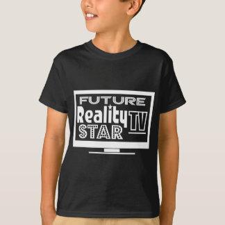 Wirklichkeit Fernsehstern T-Shirt