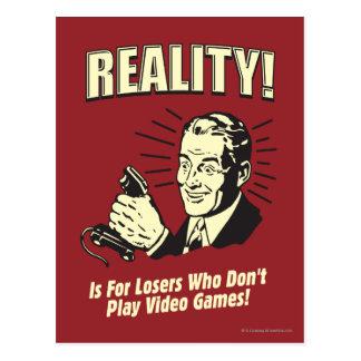 Wirklichkeit: Für Verlierer Postkarte
