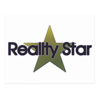Wirklichkeits-Stern Postkarte