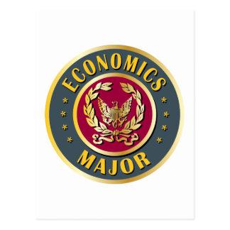 Wirtschafts-Major Postkarte