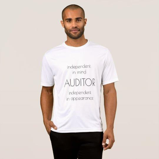 """""""Wirtschaftsprüfer: Unabhängiger im Verstand u. im T-Shirt"""