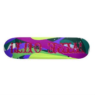 Wischen Sie weg! 19,1 Cm Old School Skateboard Deck