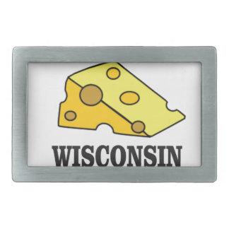 Wisconsin-Käsekopf Rechteckige Gürtelschnalle