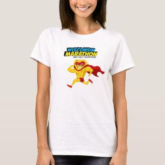 Wisconsin-Marathonlauf-Tag T-Shirt