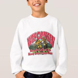 Wisconsin-Schmutz-Fahrrad Sweatshirt