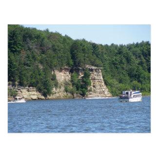 Wisconsin-Tal-Postkarte Postkarte