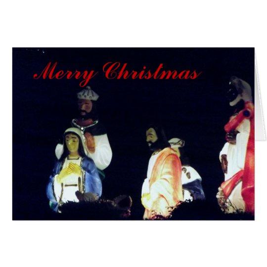 Wisemen Weihnachtskarte Grußkarte