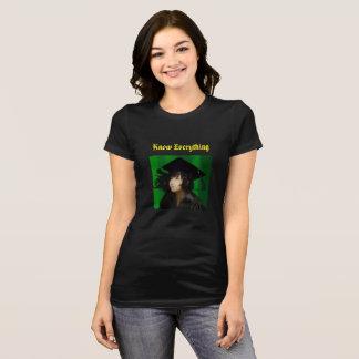 Wissen Sie alles -- Gold T-Shirt