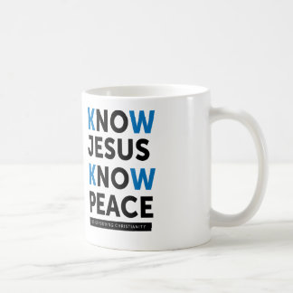 Wissen Sie, dass Jesus Frieden, keine Zensur Kaffeetasse