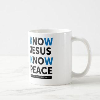 Wissen Sie, dass Jesus Frieden, keine Zensur Tasse