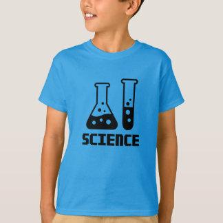 Wissenschaft - Reagenzglas und Erlenmeyerkolben T-Shirt