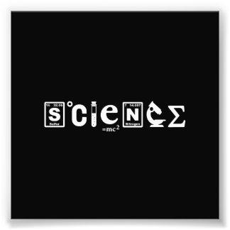 Wissenschaftliche Symbol-Wissenschaft Kunstphoto