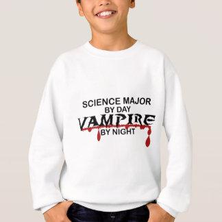 Wissenschafts-bedeutender Vampir bis zum Nacht Sweatshirt