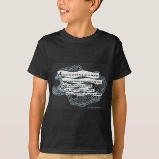 Wissenschafts-Gedicht - die Amöbe T-Shirt