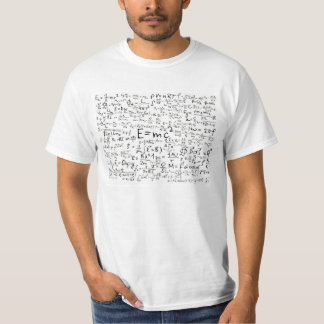Wissenschafts-Gleichungs-T-Stück T-Shirt