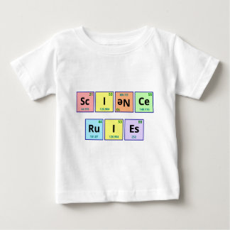Wissenschafts-Regeln Baby T-shirt