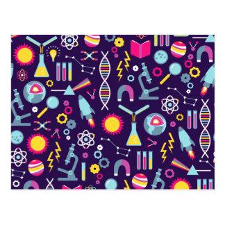 Wissenschafts-Studien Postkarte