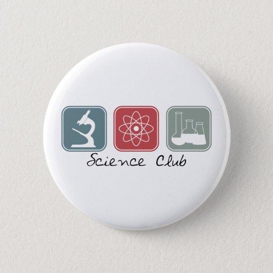 Wissenschafts-Verein (Quadrate) Runder Button 5,1 Cm